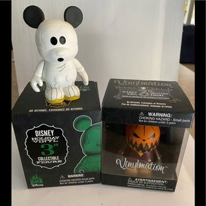 Disney vinylmation figures halloween NmBC